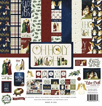 Oh Holy Night 12x12 / Collection Kit