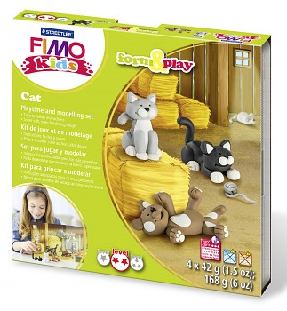 Sada Fimo Kids Form & Play / Cat