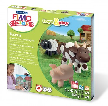 Sada Fimo Kids Form & Play / Farm
