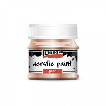 Pentart acrylic paint pearl effect / apricot