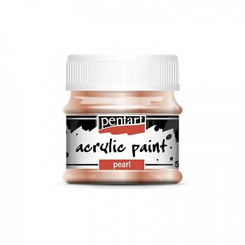 Pentart akrylová farba perleťová / marhuľová