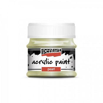 Pentart acrylic paint pearl effect / green