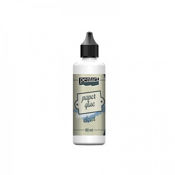 Papier-Kleber / clear / 80ml