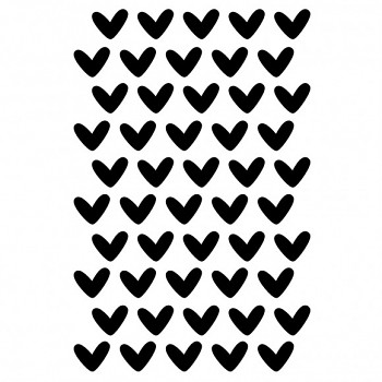 Art Stencil A5 / Love It - Hearts