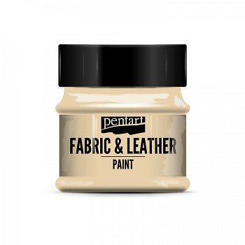 Fabric & Leather Paint 50ml / shell white