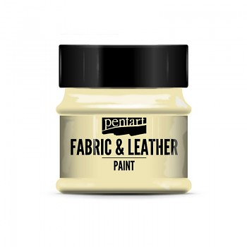 Fabric & Leather Paint 50ml / ivory
