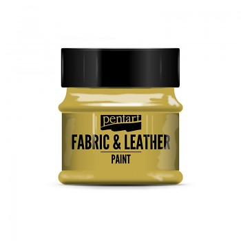 Fabric & Leather Paint 50ml / glitter gold
