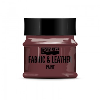 Fabric & Leather Paint 50ml / glitter red