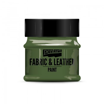 Fabric & Leather Paint 50ml / glitter green