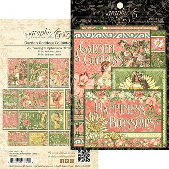 Garden Goddess / 4x6 Ephemera Cards