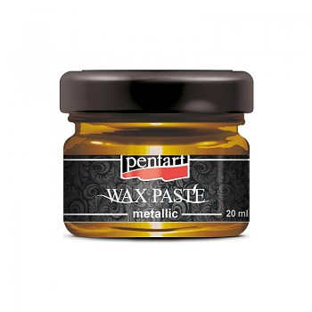 Wax paste metallic / 20ml / honey gold