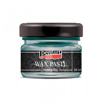 Wosk pasta metaliczna / 20ml / turtle green