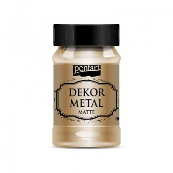 Pentart Dekor Metal 100ml / bronze