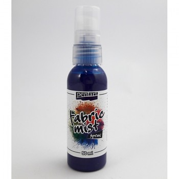 Pentart / Fabric Mist Spray 50ml / blue