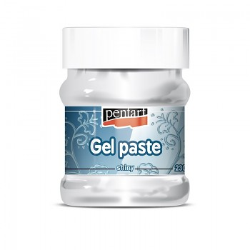 Gel paste / 230 ml / shiny