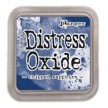 Distress Oxide Ink Pad / Chipped Sapphire