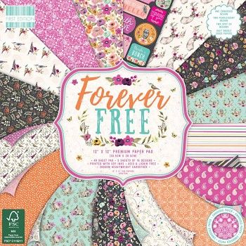Forever Free / 12x12 / 48 St. / Papier-Set
