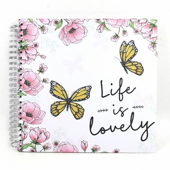 "Simply Creative Album 12x12"" / 40 sheets / Life Is Lovely"