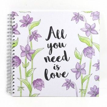 "Simply Creative Album 12x12"" / 40 sheets / All You Need Is Love"