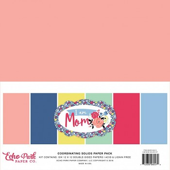 I Am Mom 12x12 / Solids Kit