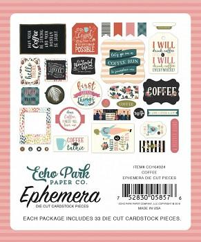 Coffee Ephemera / Papírové výřezy
