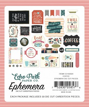 Coffee Ephemera / Papierové výrezy