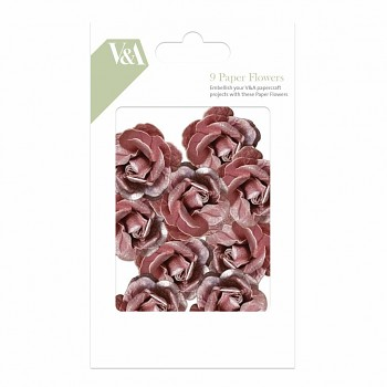 V&A Paper Flowers / 9pcs