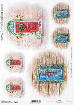Ryžový papier na decoupage A4 / ITD R1507