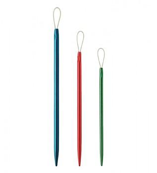 Aluminium wool needles 3 pcs