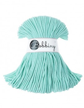 Bobbiny Cotton Cord Junior 3mm / 100m / Mint