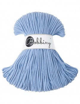 Bobbiny Cotton Cord Junior 3mm / 100m / Baby blue