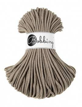 Bobbiny Cotton Cord Premium 5mm / 50m / Coffee