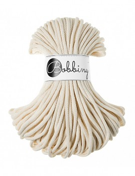 Bobbiny Cotton Cord Premium 5mm / 50m / Natural