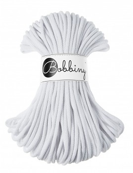 Bobbiny Cotton Cord Premium 5mm / 50m / White