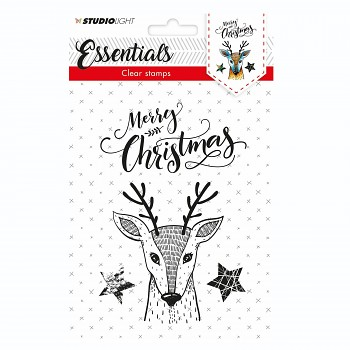 A6 Christmas Essentials nr.324 / Clear Stamps