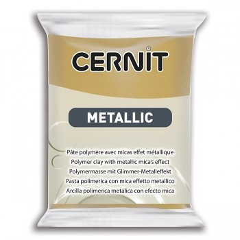 Cernit Metallic / 56g / rich gold / 053