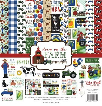 Down On The Farm 12x12 / Collection Kit