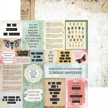 """Scrapbookový papier 12x12"""" / Scrap studio / Frayed"""