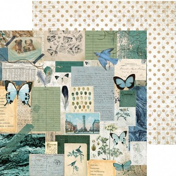 "Scrapbookový papier 12x12"" / Scrap studio / Authentic"