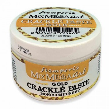 Crackle Paste Gold / monocomponent / 150ml