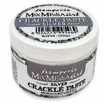 Crackle Paste Silver / monocomponent / 150ml