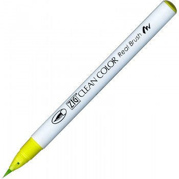 ZIG Clean Color Real Brush / 053 Yellow green