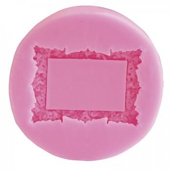 силиконовая форма /  frame  6,5 x 6,5 x 1,1 cm