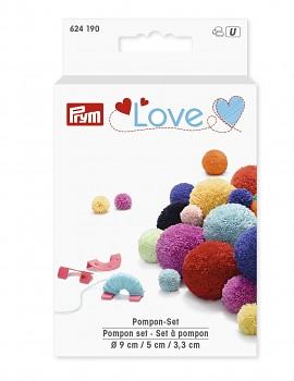Šablóny na výrobu brmbolcov PRYM LOVE