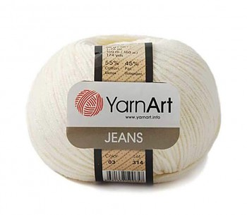 Yarn Jeans (Gina) / 50g / cream 03