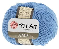 Yarn Jeans (Gina) / 50g / light blue 15