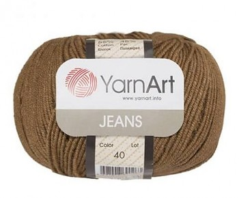Yarn Jeans (Gina) / 50g / brown 40