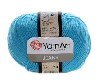 Yarn Jeans (Gina) / 50g / turquoise 33