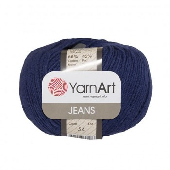 Yarn Jeans (Gina) / 50g / dark blue 54