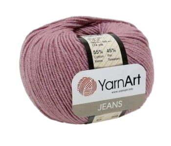 Yarn Jeans (Gina) / 50g / old pink 65